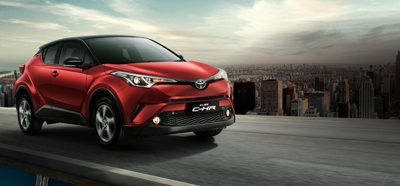 Exterior All New C-HR 1