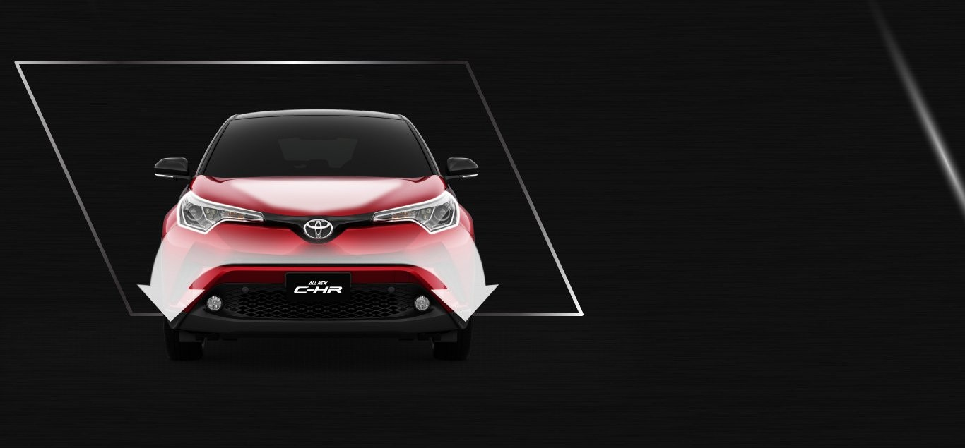 Exterior All New C-HR 3