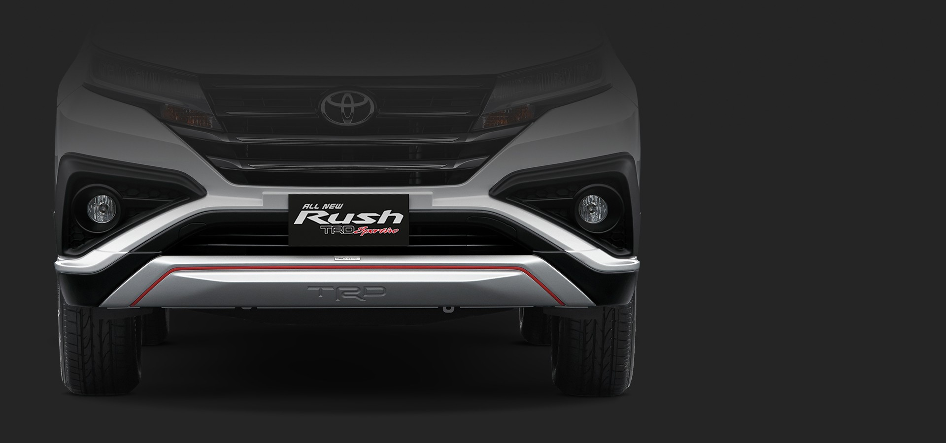 Exterior All New Rush 3